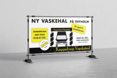 Banner til Kappelvej Værksted