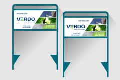 Byggeskilte til Verdo
