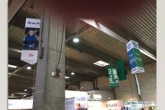 Messestand - bannere til loft