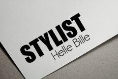 Stylist Helle Bille