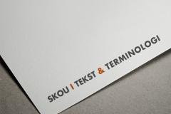 Skou Tekst & Terminologi