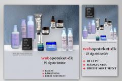 Webbanner - kampagne Webapoteket